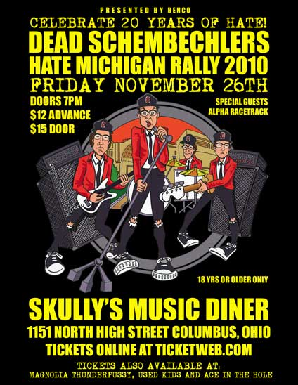 2010 Hate Michigan Ralley